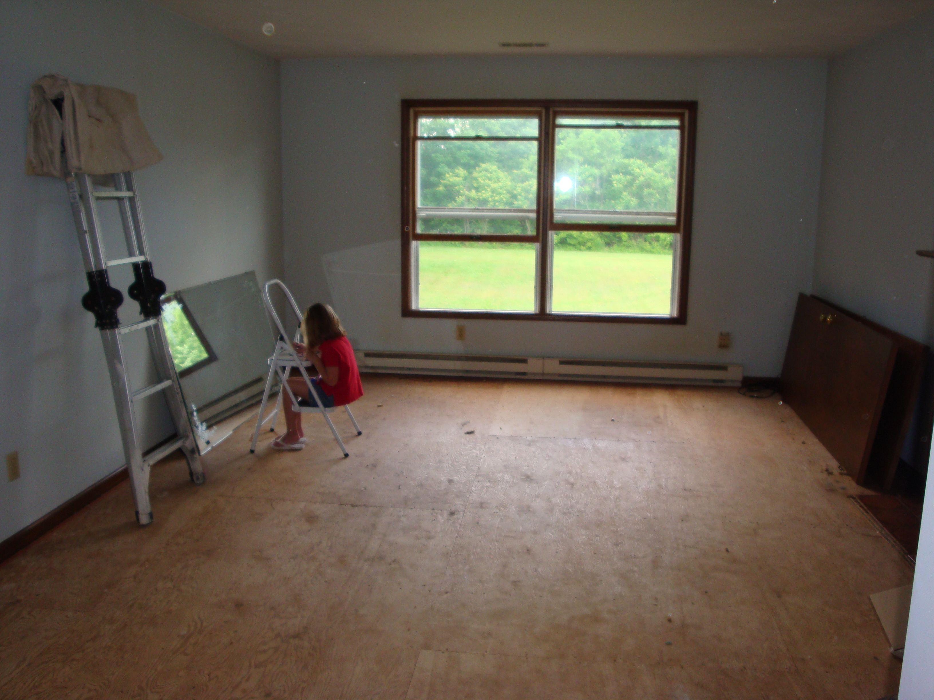 Home Renovations Update Living Room Progress