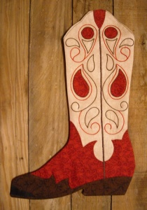 Cowboy Boot Stocking Pattern And Giveaway Peas In A Pod