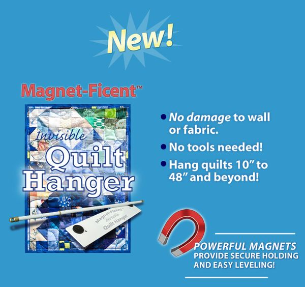 Product Review Of Magnet Ficent Invisible Quilt Hanger
