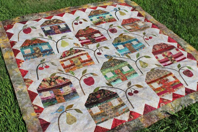 Home Sweet Michigan Home Progress and a Giveaway - Peas In A Pod : edyta sitar quilt patterns - Adamdwight.com