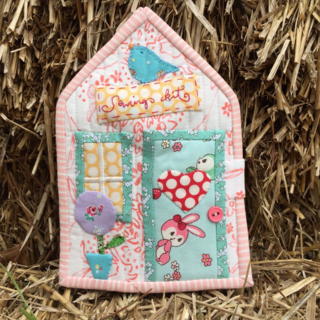 Front of Sewing Kit House