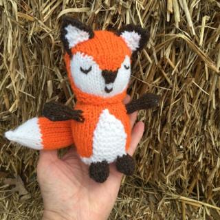 Woodland Fox in my hand